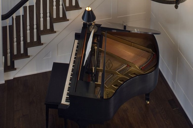Piano & Staircase