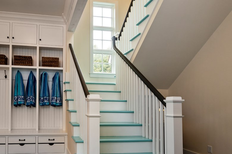 Mudroom Staircase